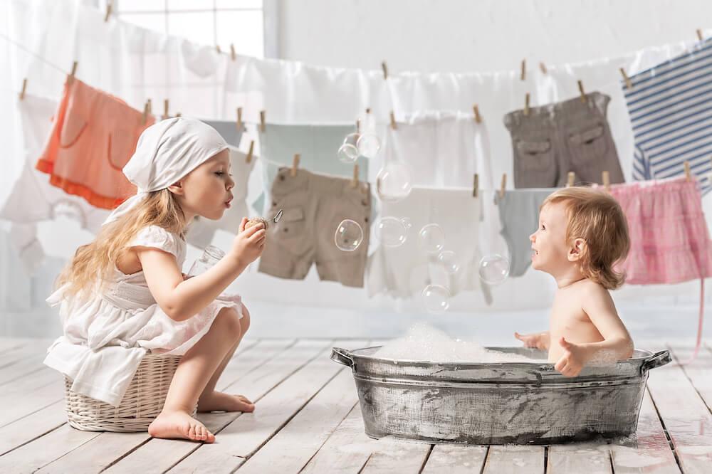 สนุกกันวันซักผ้า