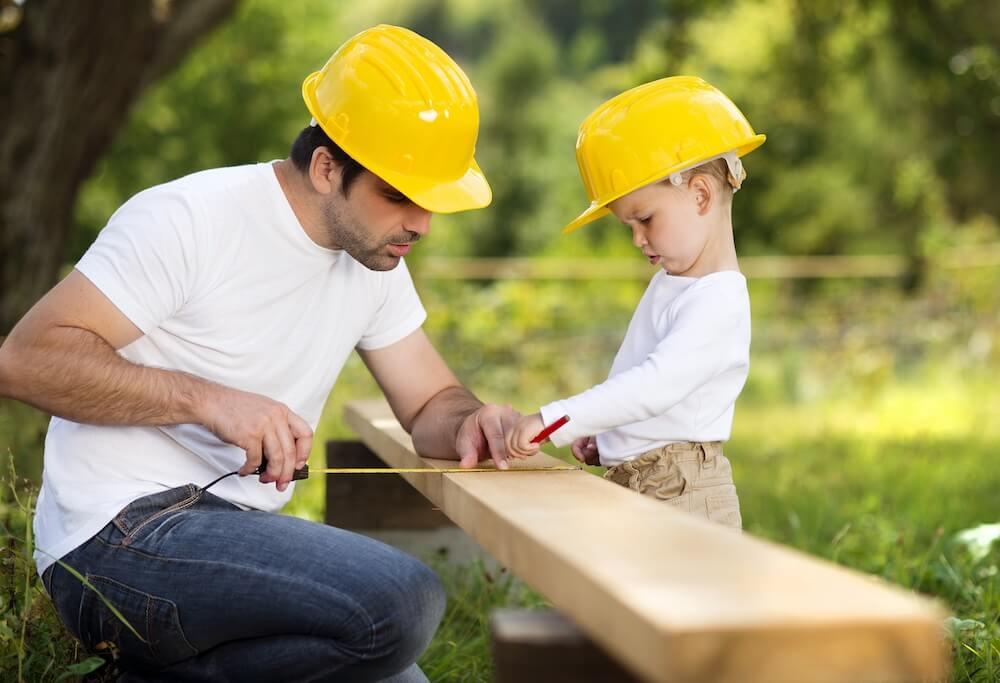 ฝึกงาน DIY กับคุณพ่อ