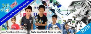 LEGO Robot Invention Summer Camp 2018
